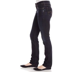 Silver Jeans Women's Aiko Mid Straight Leg Jeans